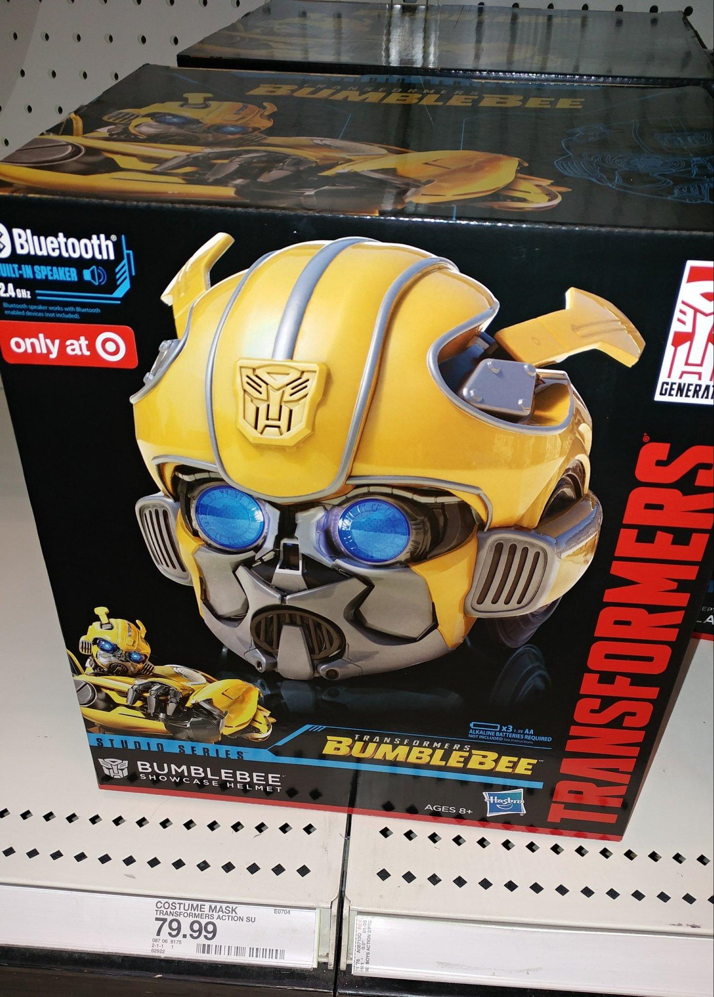 Target Exclusive Studio Series Showcase Bumblebee Helmet