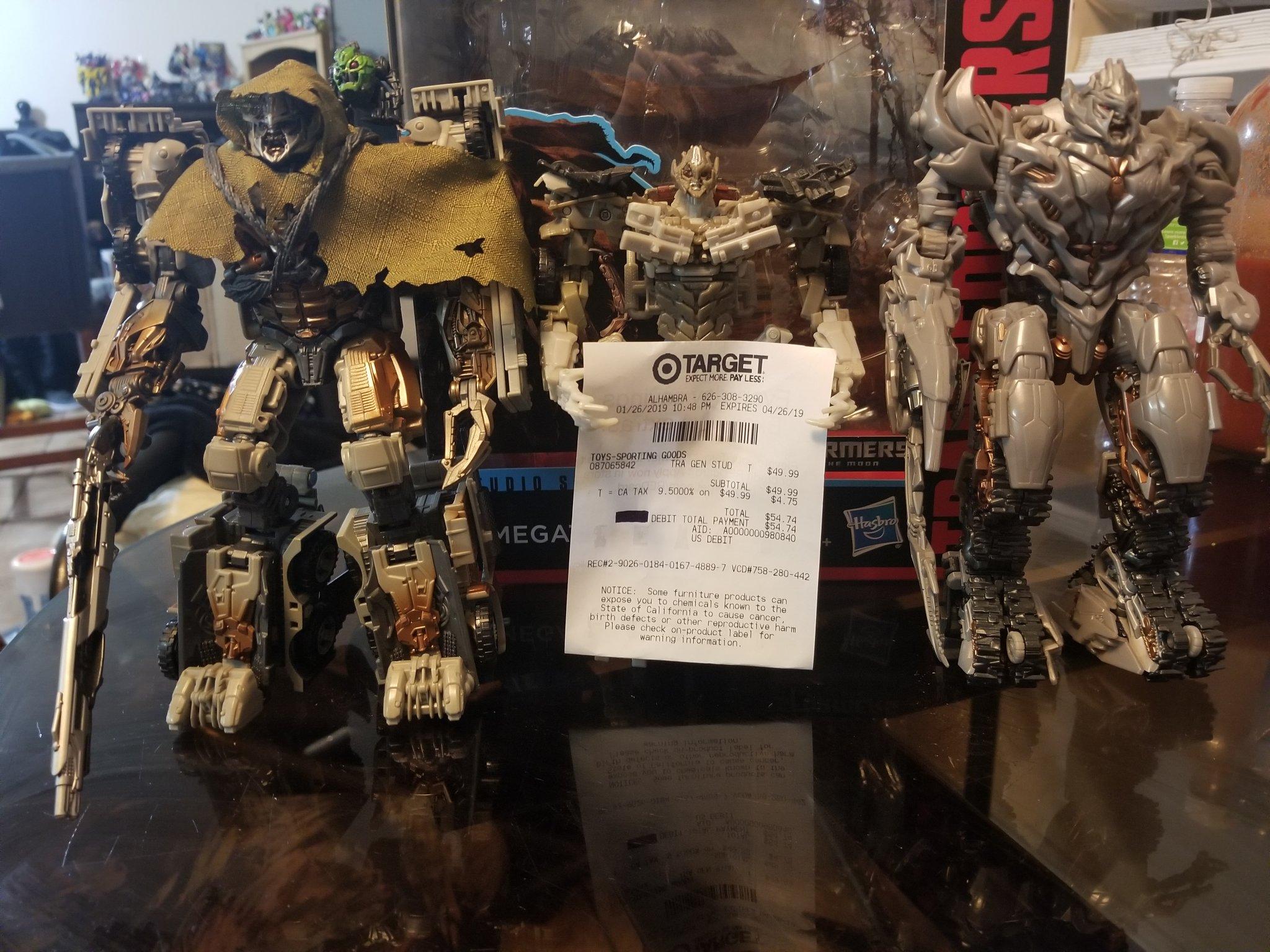 "Transformers Generations Studio Series Leader 9/"" Figure Wav 2 Full Box 2 Figure"