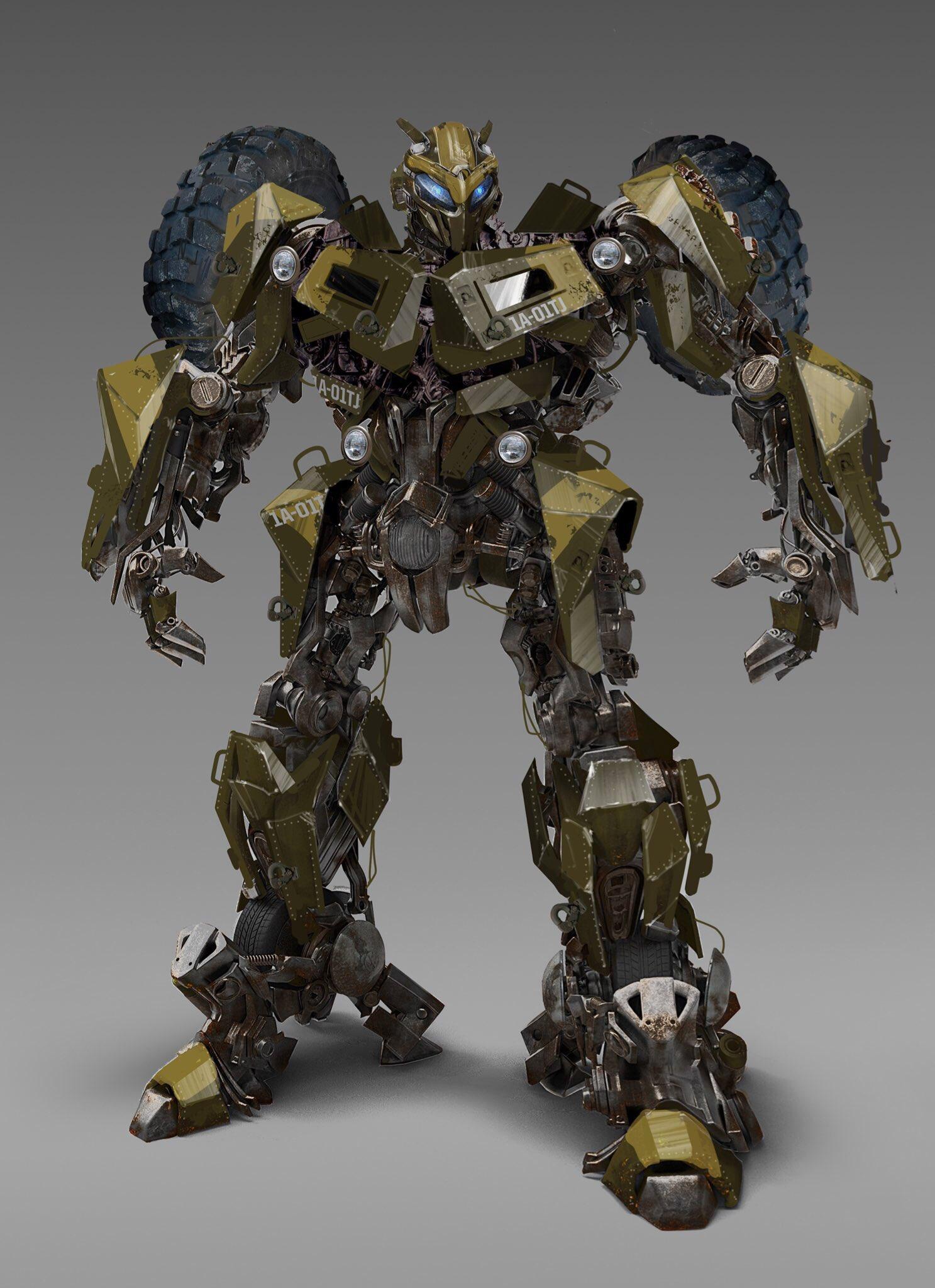 Bumblebee Movie Concept Art Round Up 5 Transformers News