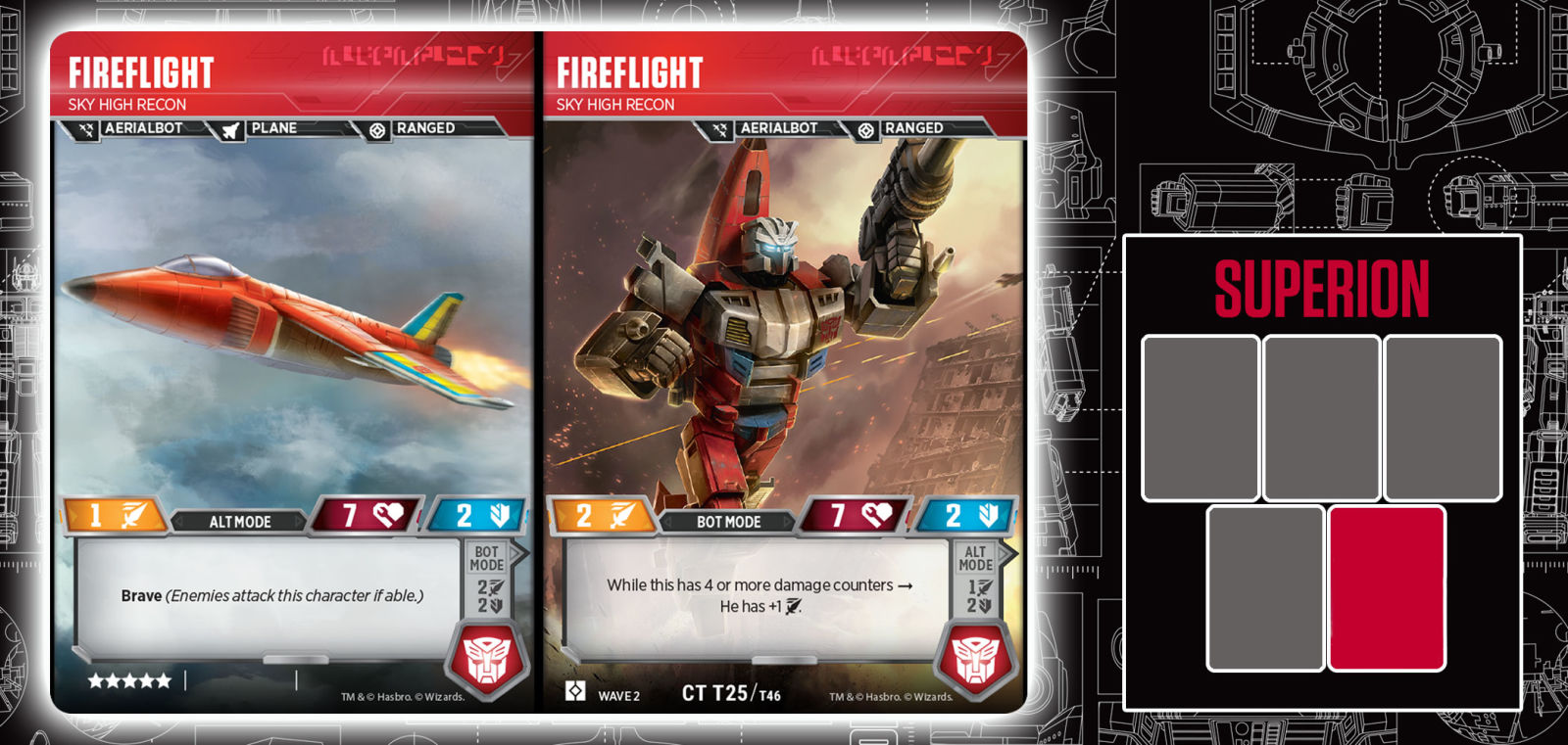 Transformers Trading Card Game Reveal: Superion, Sky