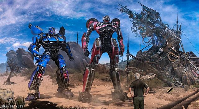 Bumblebee Movie Concept Art Round Up 5