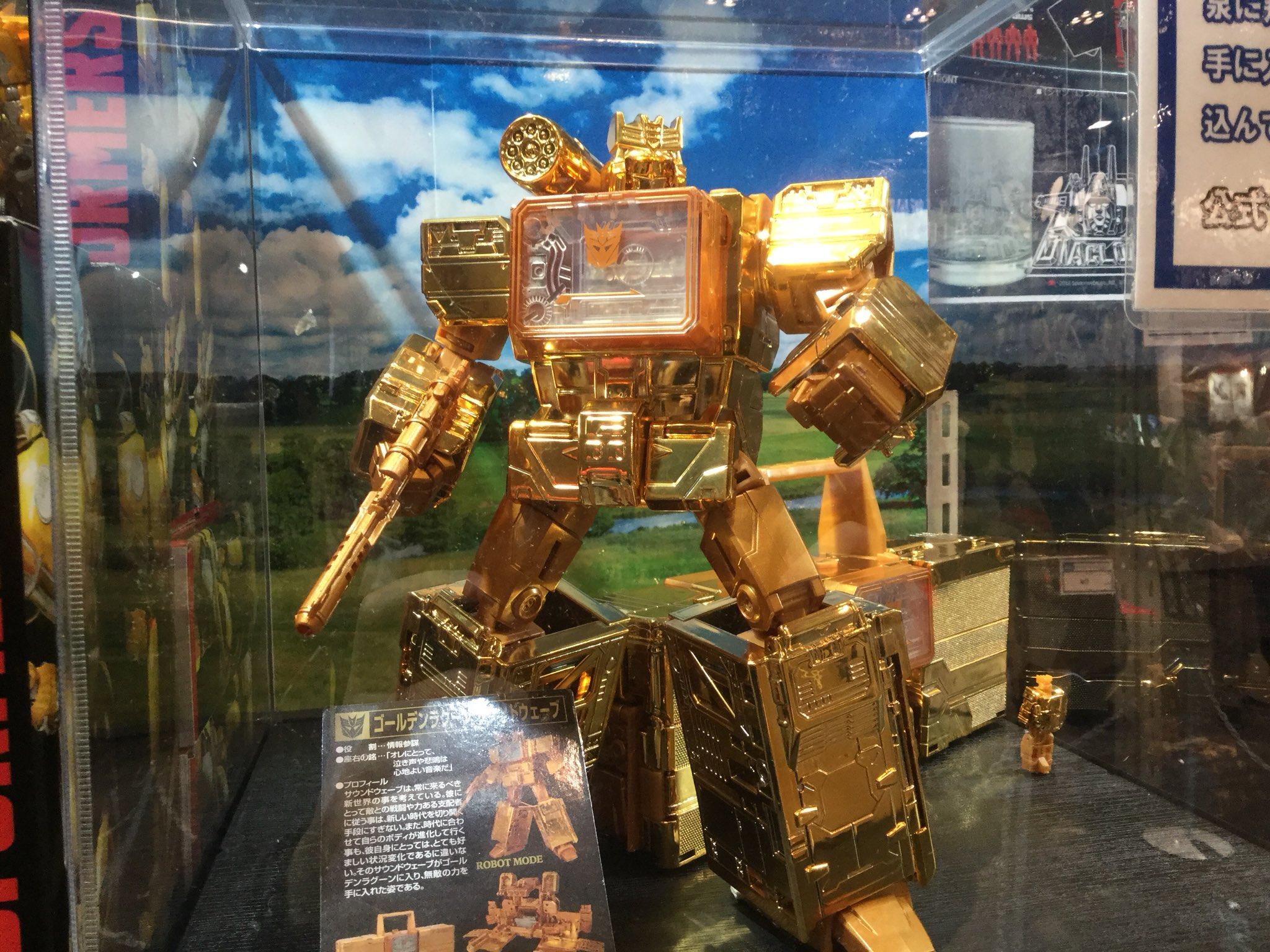 Golden Lagoon Titans Return Soundwave Revealed