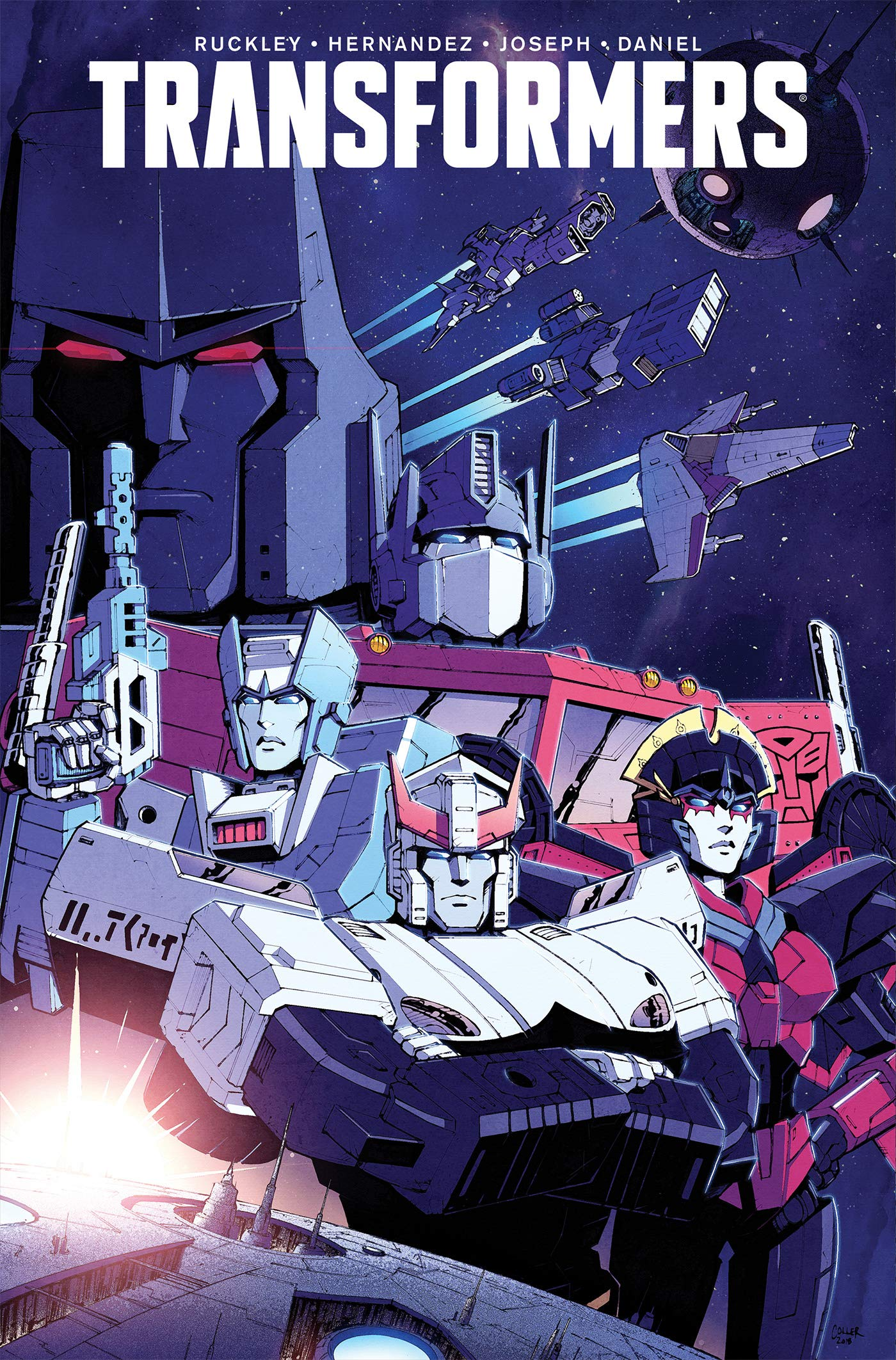 bde67b16510cf6 New IDW Transformers Vol. 1  The World In Your Eyes (2019) TPB ...