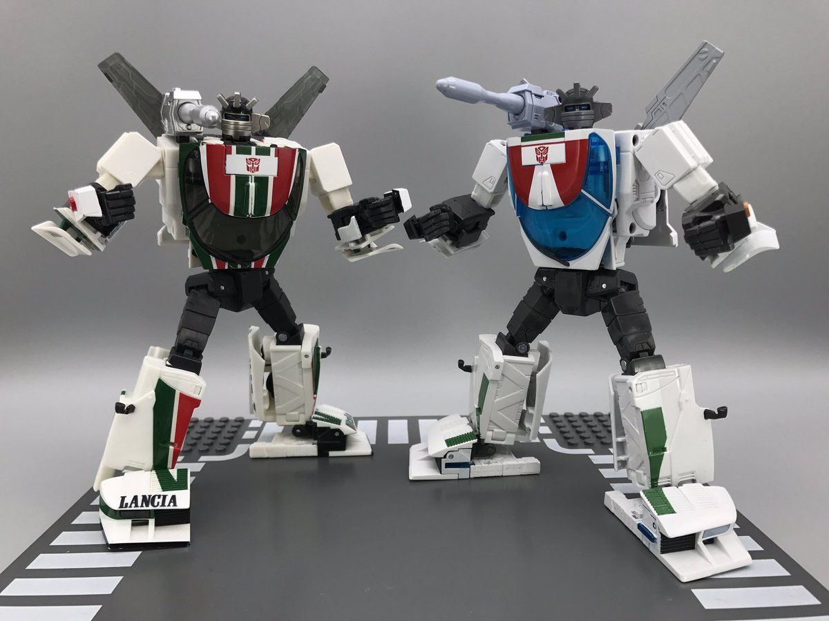 Takara Tomy Masterpiece MP-20+ Wheeljack Anime Colors In