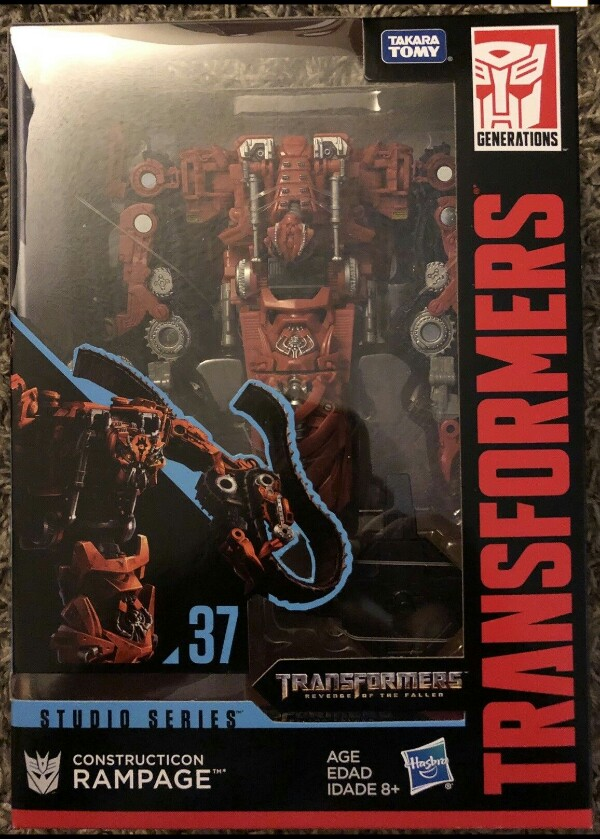 Transformers Actionfigur Rampage Constructicon #37 Studio Series