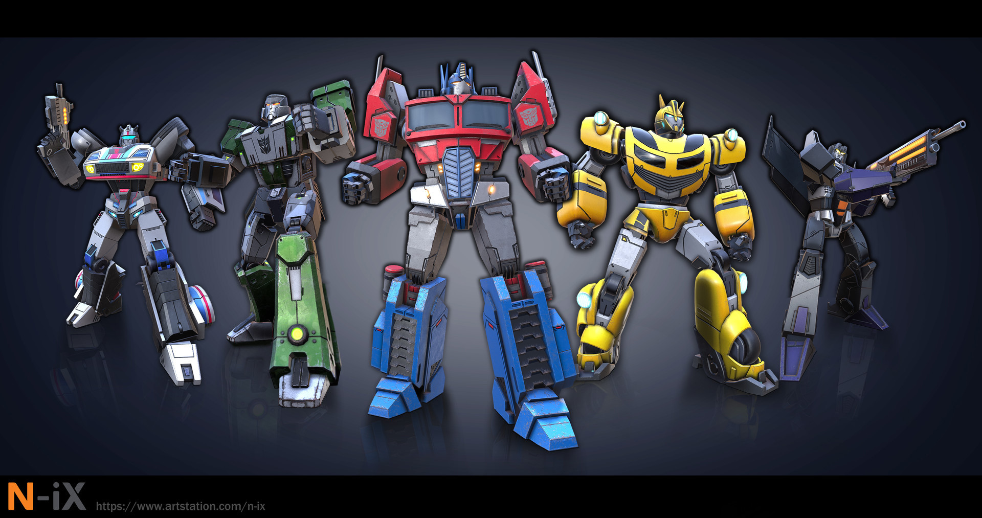 Unused Transformers Concept Art By N-iX Art Production