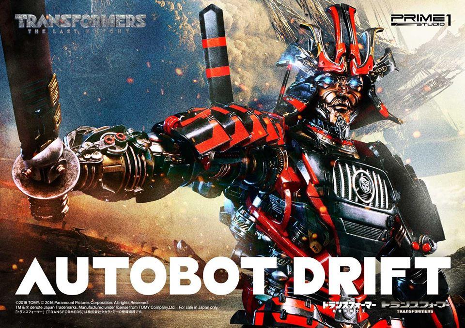 Prime 1 Studio MMTFM-22 Transformers Age Of Extinction Drift
