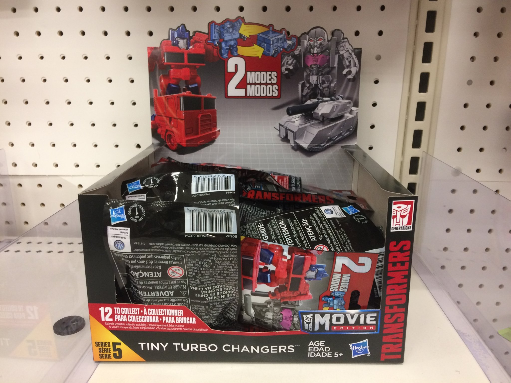 Tiny Turbo Changers Series 5 Identification Codes