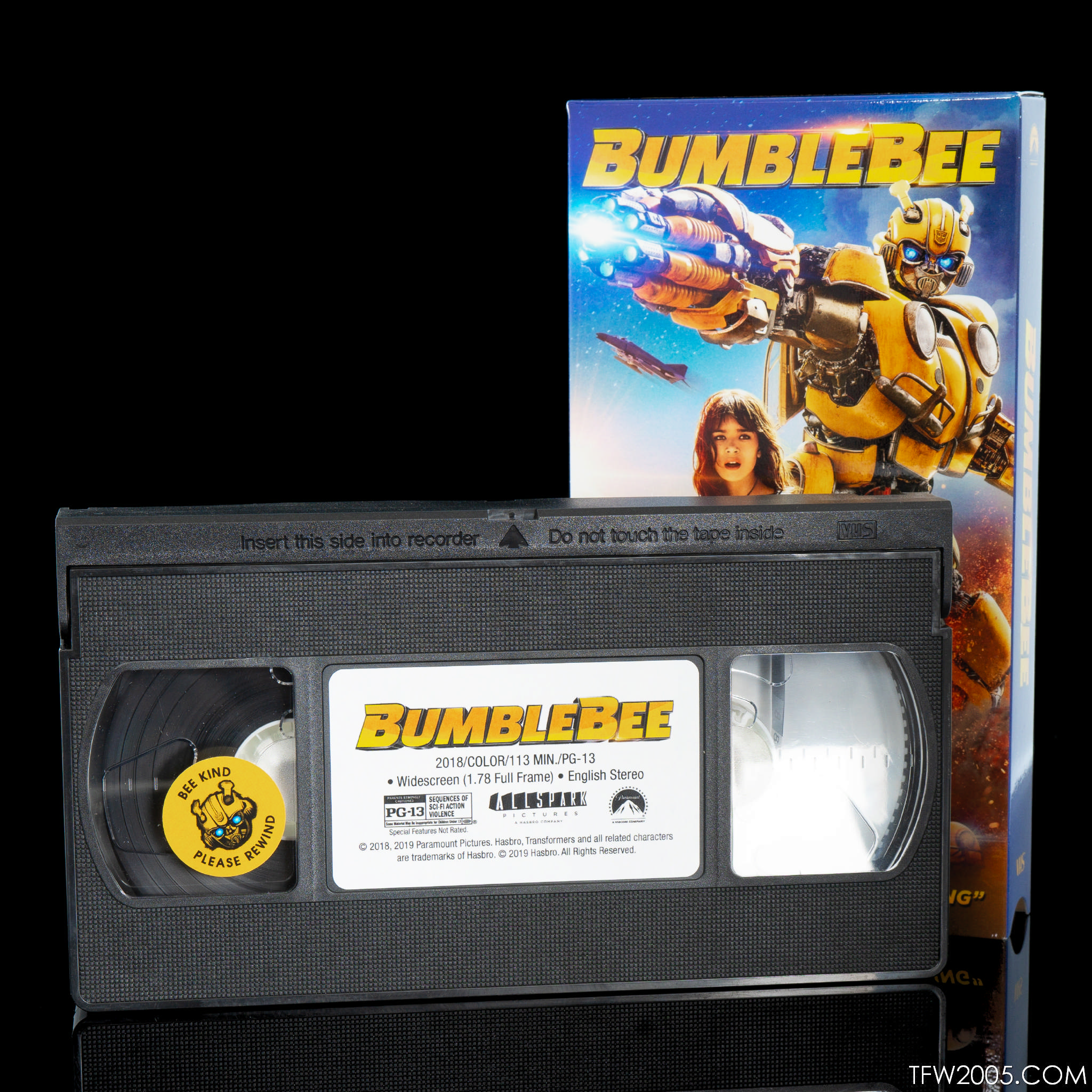 Transformers: Bumblebee Movie Out Now on VHS (Real VHS