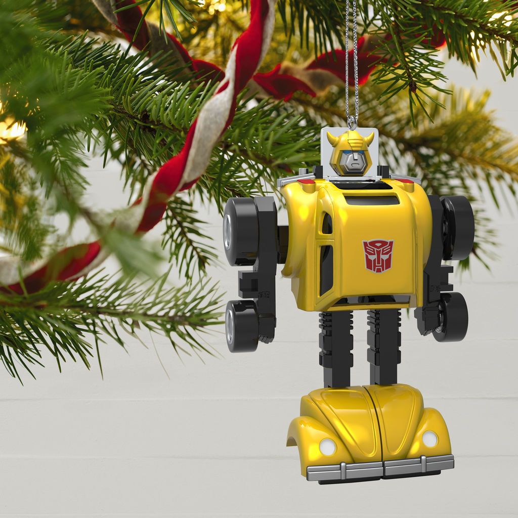 Hallmark 2019 Christmas Ornaments Hallmark G1 Bumblebee Ornament For 2019 Images   Transformers News