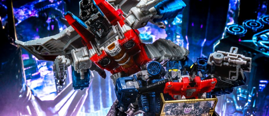 Transformers War for Cybertron Siege Starscream and Soundwave Gallery Live