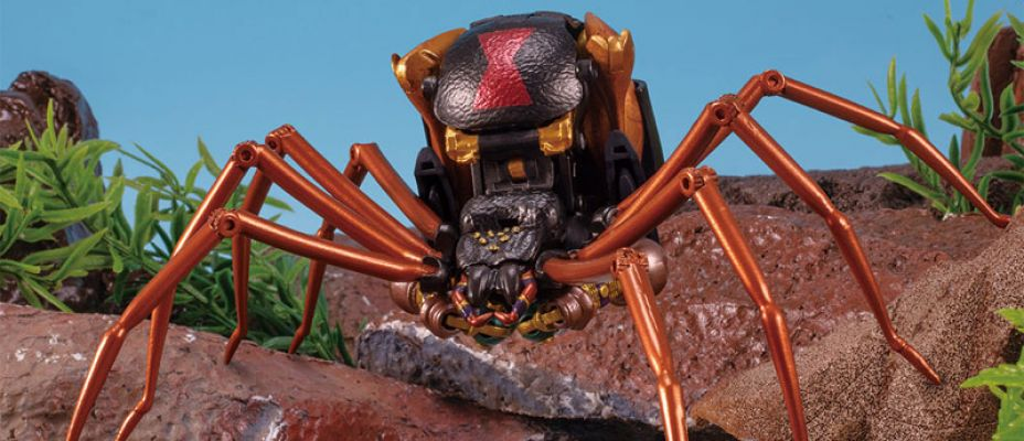 Transformers Beast Wars Masterpiece MP-46 Blackarachnia Official Images