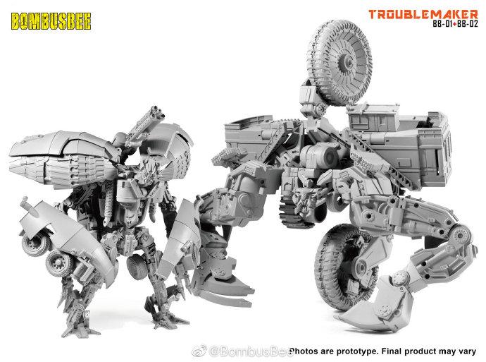 Transformers ROTF Hightower complet Legends DEVASTATOR figure lot