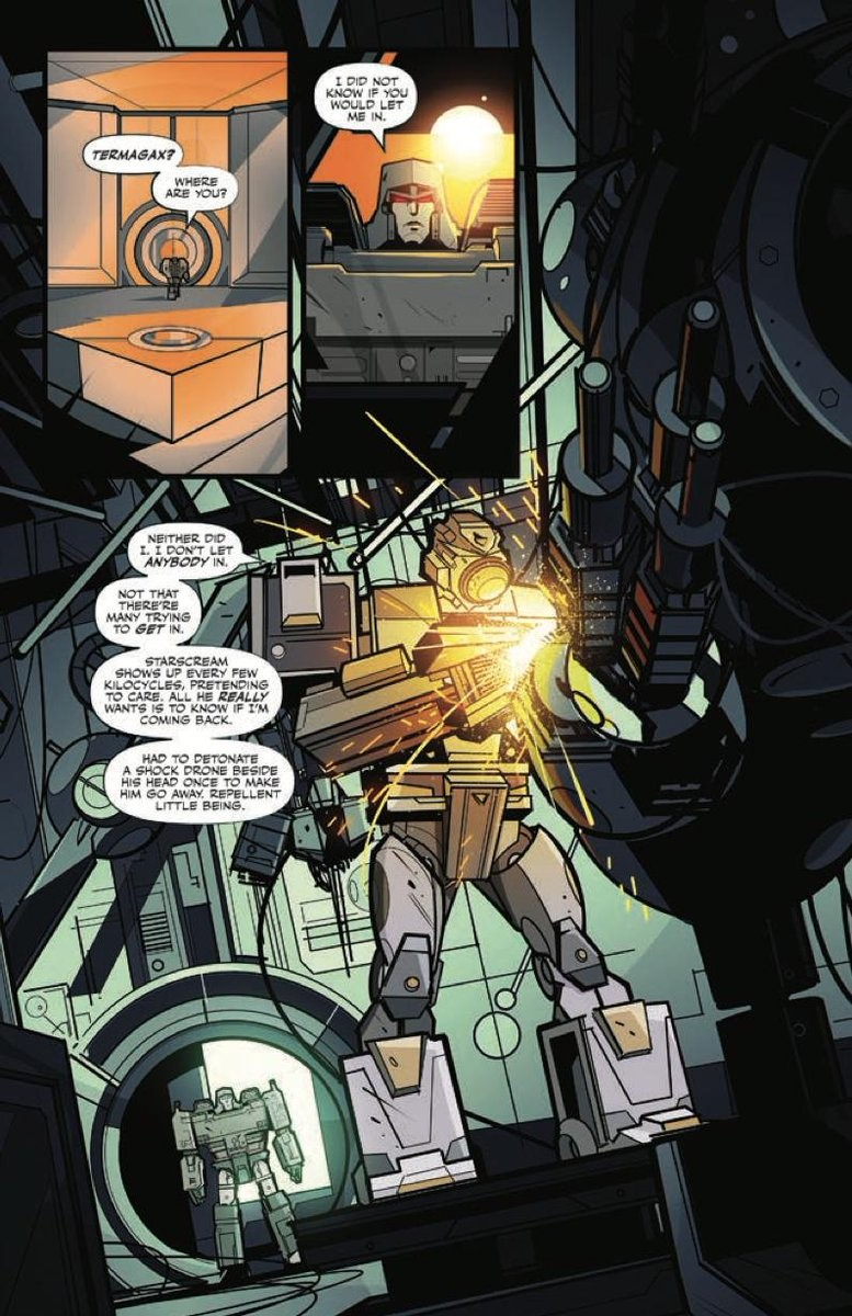 IDW's Transformers (2019) Comic Series: Issue #8 Preview