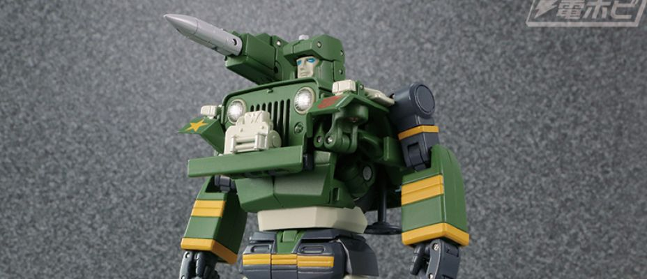 Takara Tomy Masterpiece MP-47 Hound Official Images