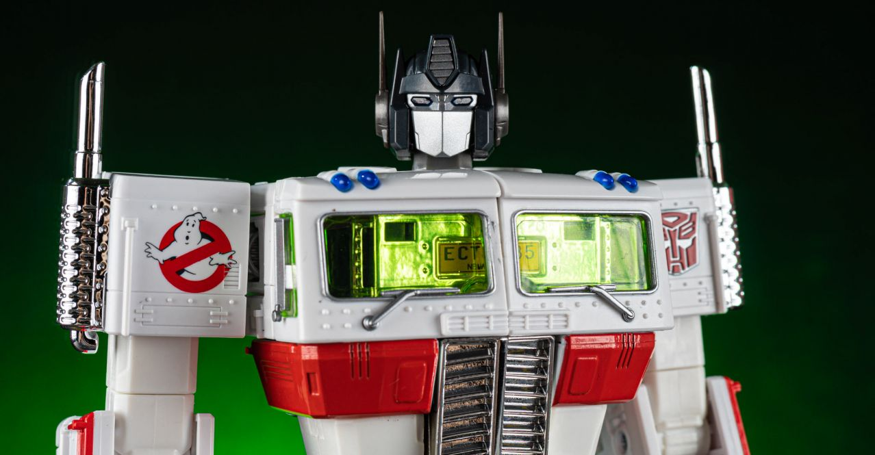 Transformers Ghostbusters MP10G Convoy Optimus Prime limited edition