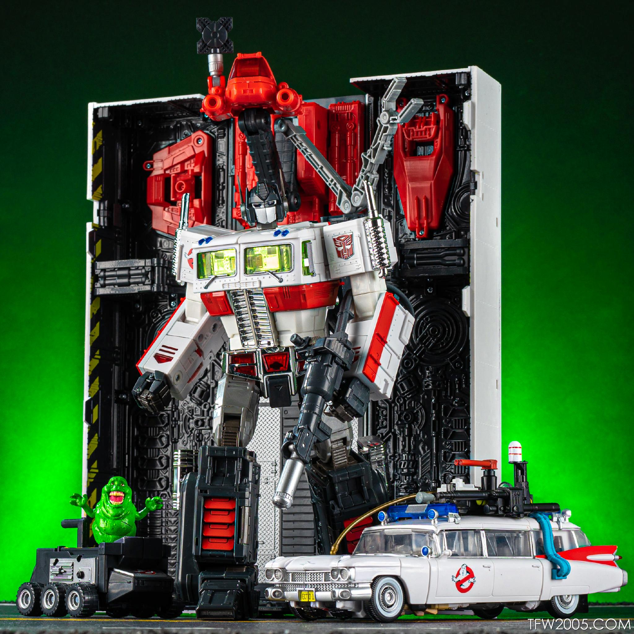 2019 SDCC Hasbro Ghostbuster Transformers Ecto-35 MP-10G Optimis Prime no Box