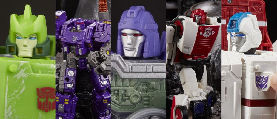 New Images of War for Cybertron Siege Jetfire, Springer, Brunt, Refraktor and Red Alert