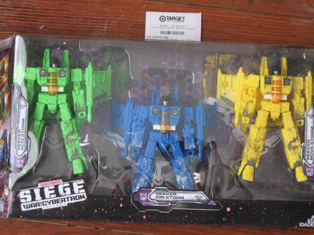 Transformers Siège Seeker acide Ion Nova Storm TARGET EXCLUSIVE NEW