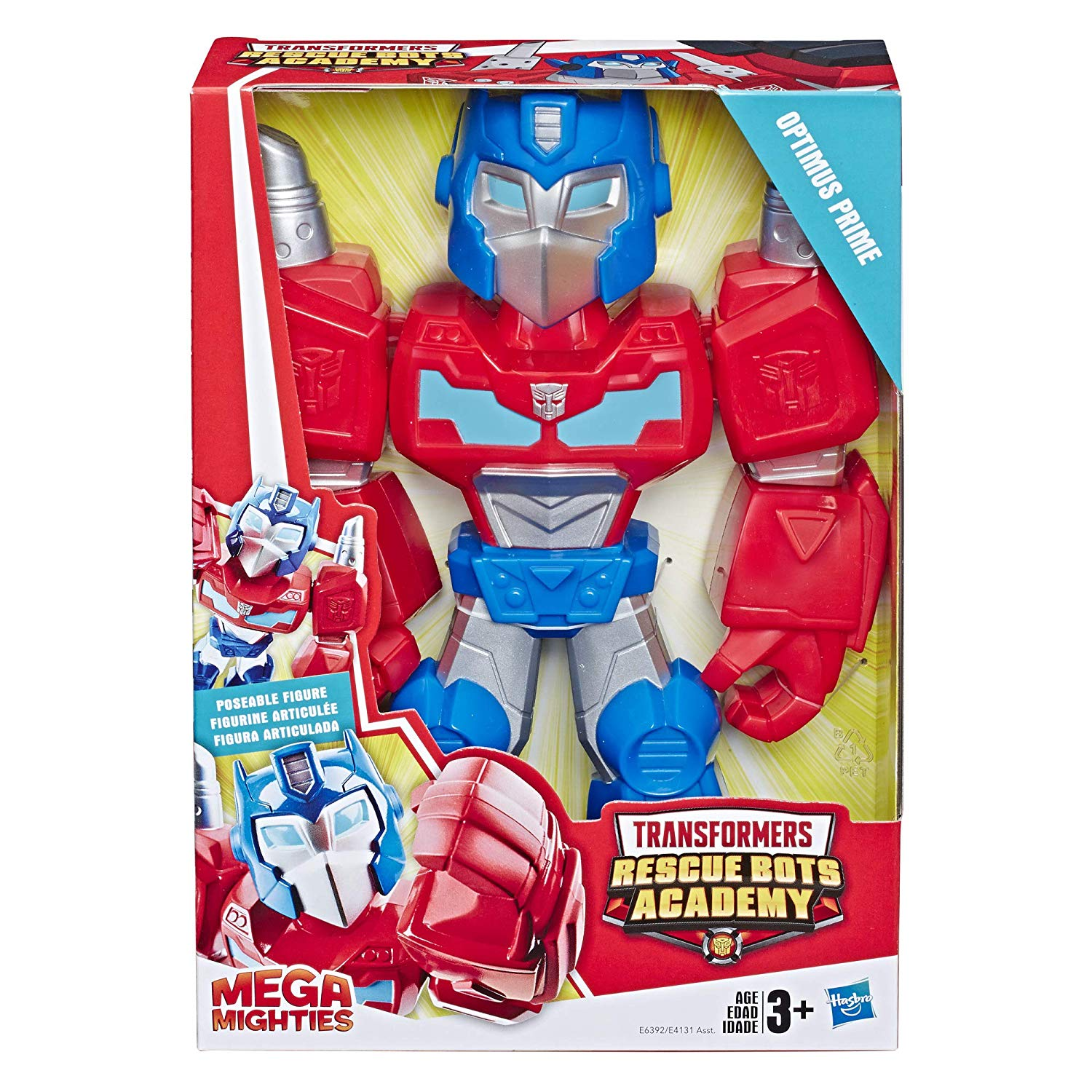 New Rescue Bots Academy Mega Mighties Optimus Prime Listed