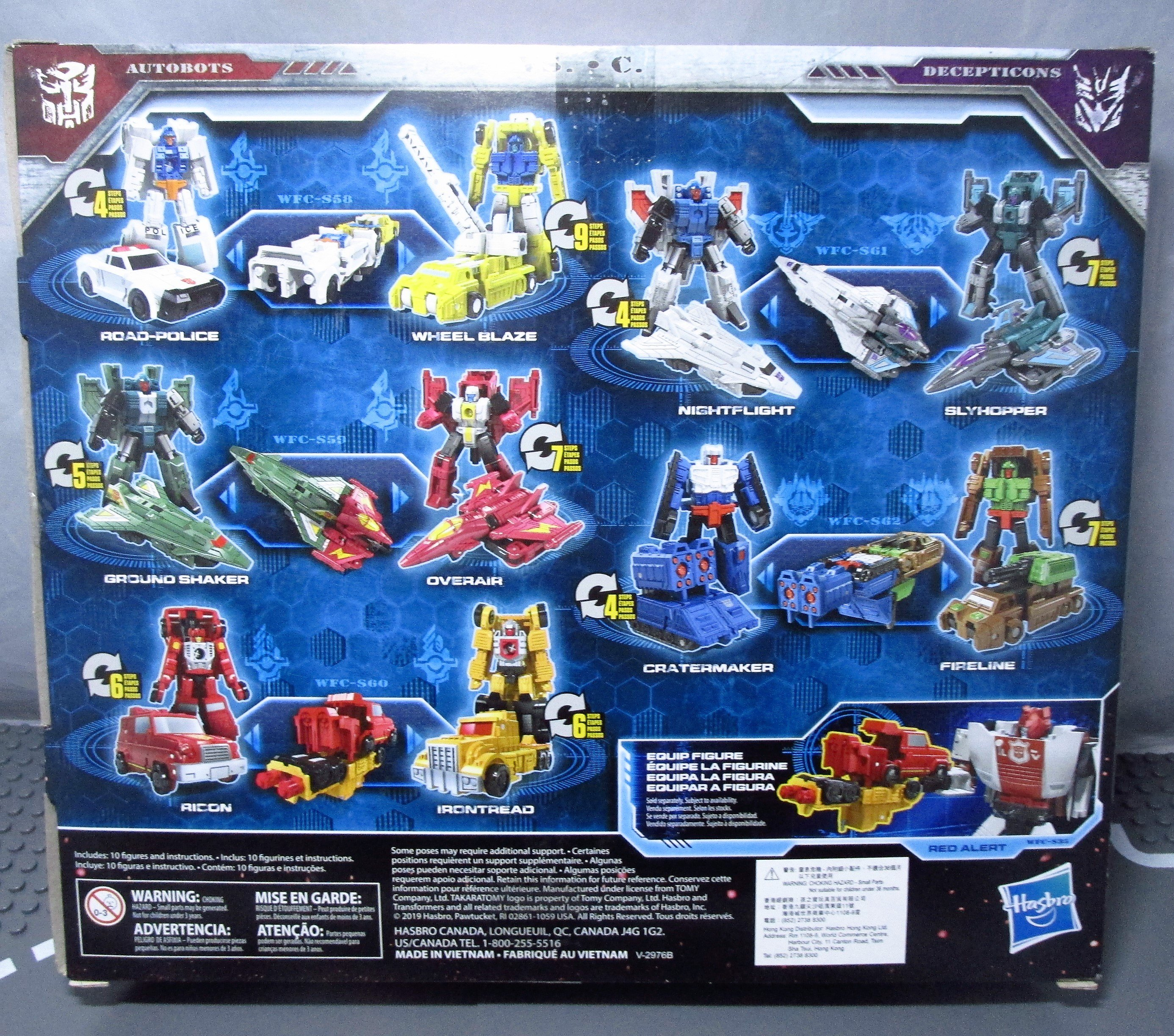 Transformers Generations War for Cybertron Siege Action Figures Micromasters