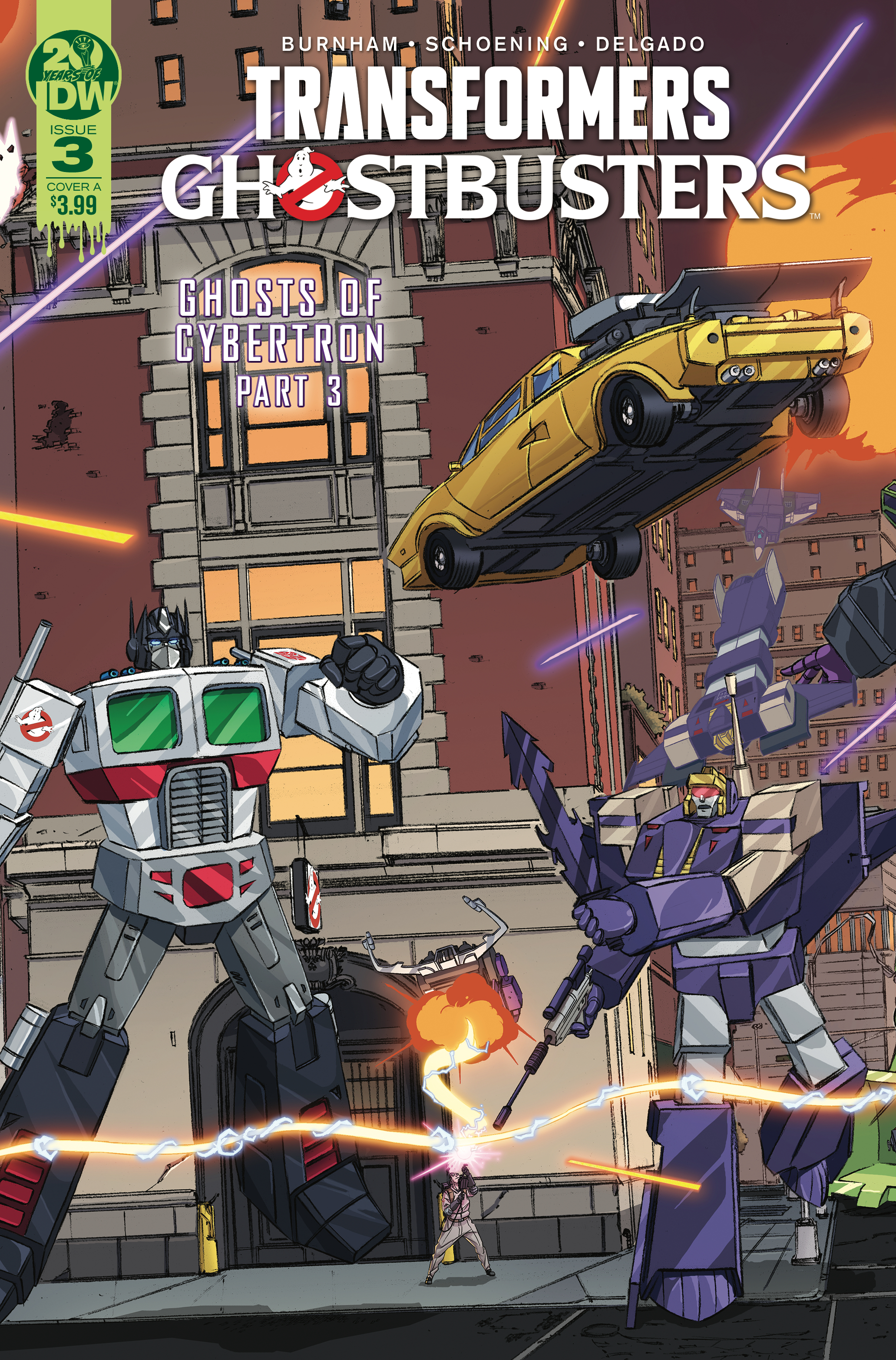 IDW Transformers x Ghostbusters #03 ITunes Preview - Transformers