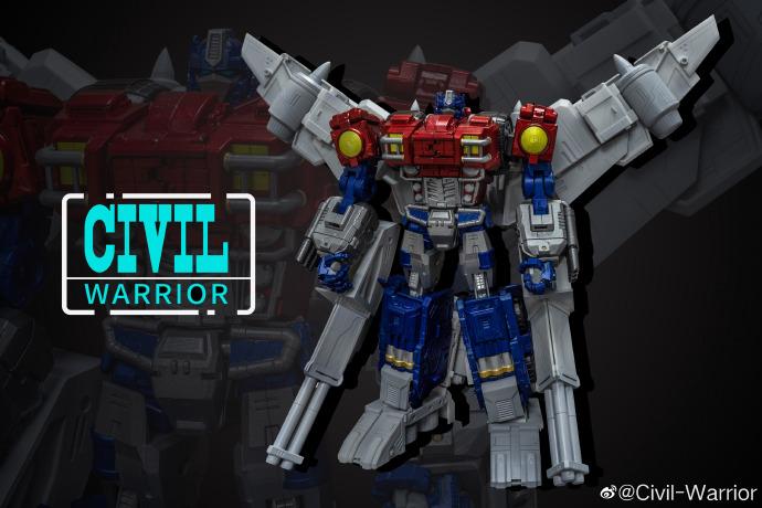 Civil Warrior General Grant (War Within Optimus Prime) Color