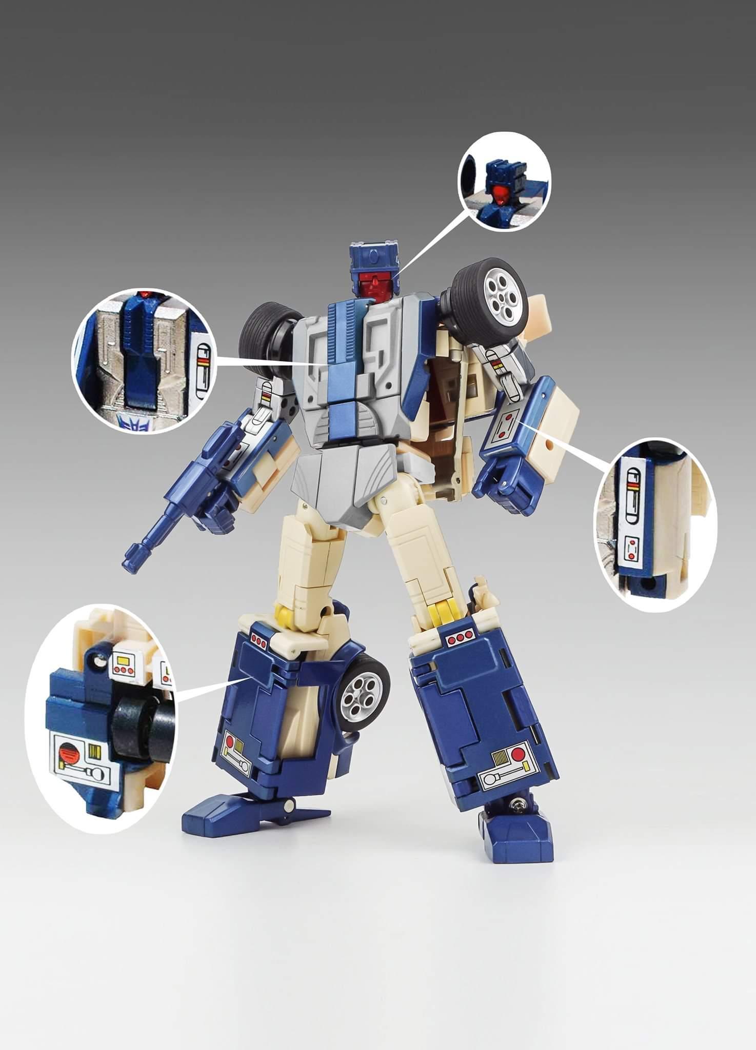 IN HAND Transform Toyworld TW-FS01SG Bulldog German Snow Camo Version Figure