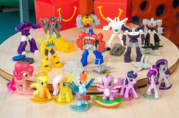 New McDonald's Happy Meal Transformers Cyberverse Power Of