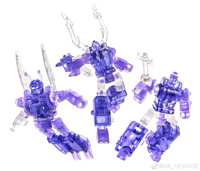 3pcs Transformers Legends Class Insecticons Bombshell Shrapnel Kickback New