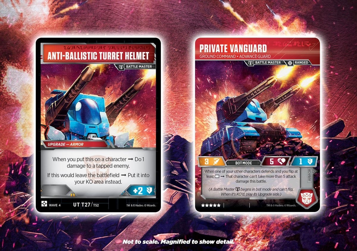 Transformers TCG Wave 4 3 Each All Uncommon Battle Cards