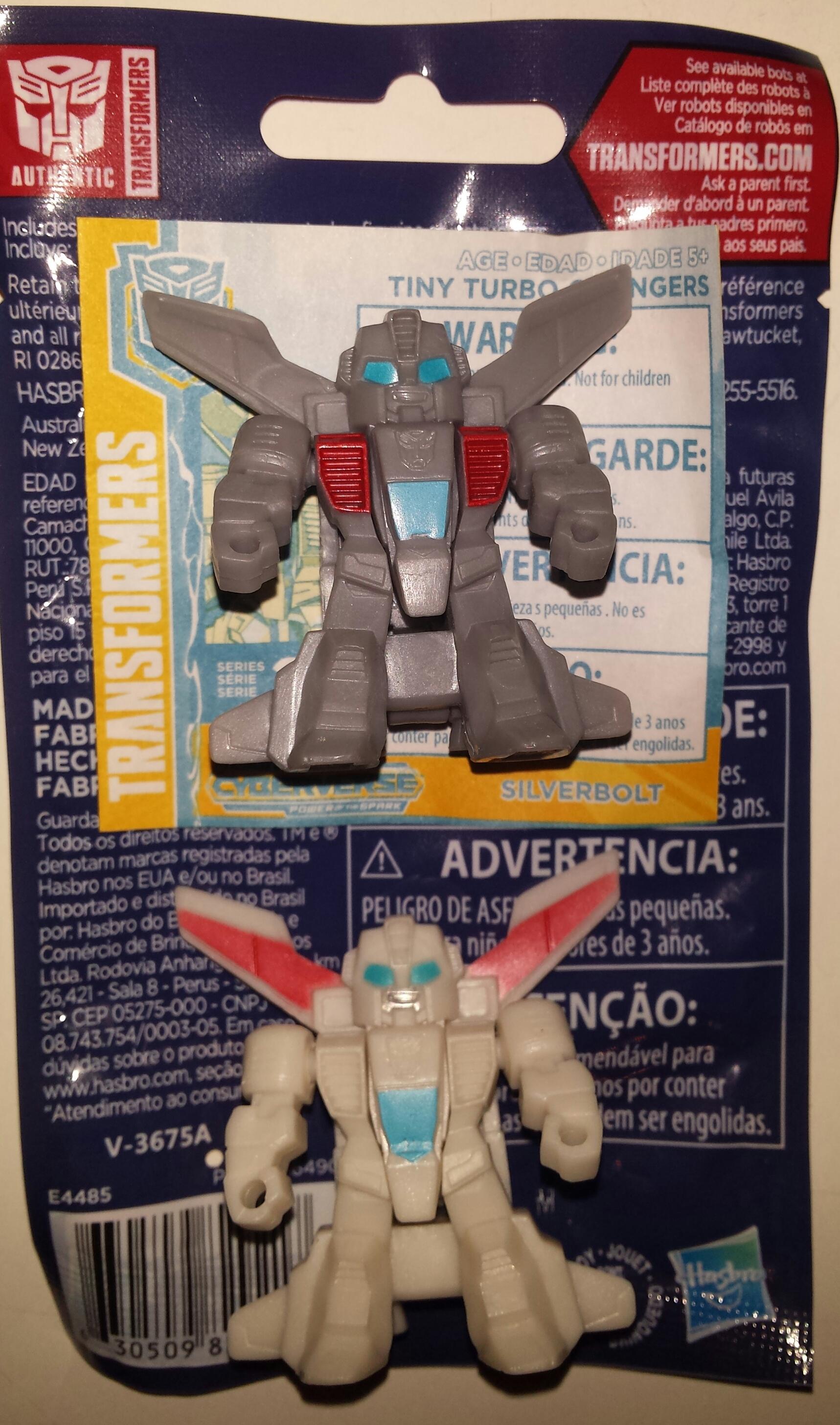 Silverbolt Transformers cyberverse TINY TURBO changeurs série 2 2019 Hasbro NOUVEAU