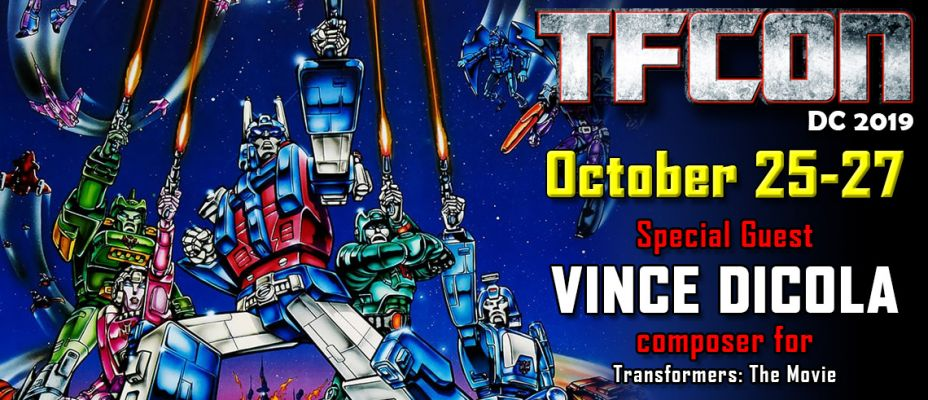 Transformers The Movie composer Vince Dicola to attend TFcon DC 2019