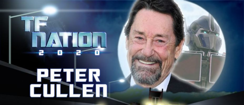 Peter Cullen, the voice of Optimus Prime, to make UK convention debut at TFNation 2020
