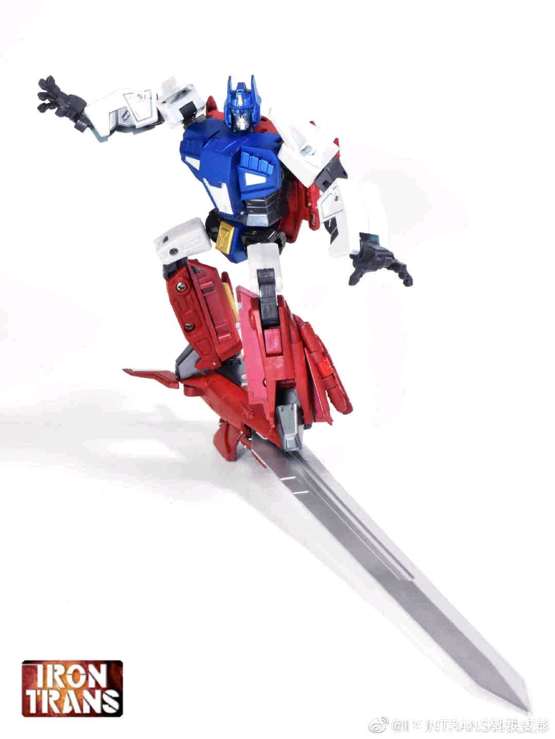 Transformers Irontrans Ir-V01 Star Saber Mp Scale Action Figure Toy In Stock