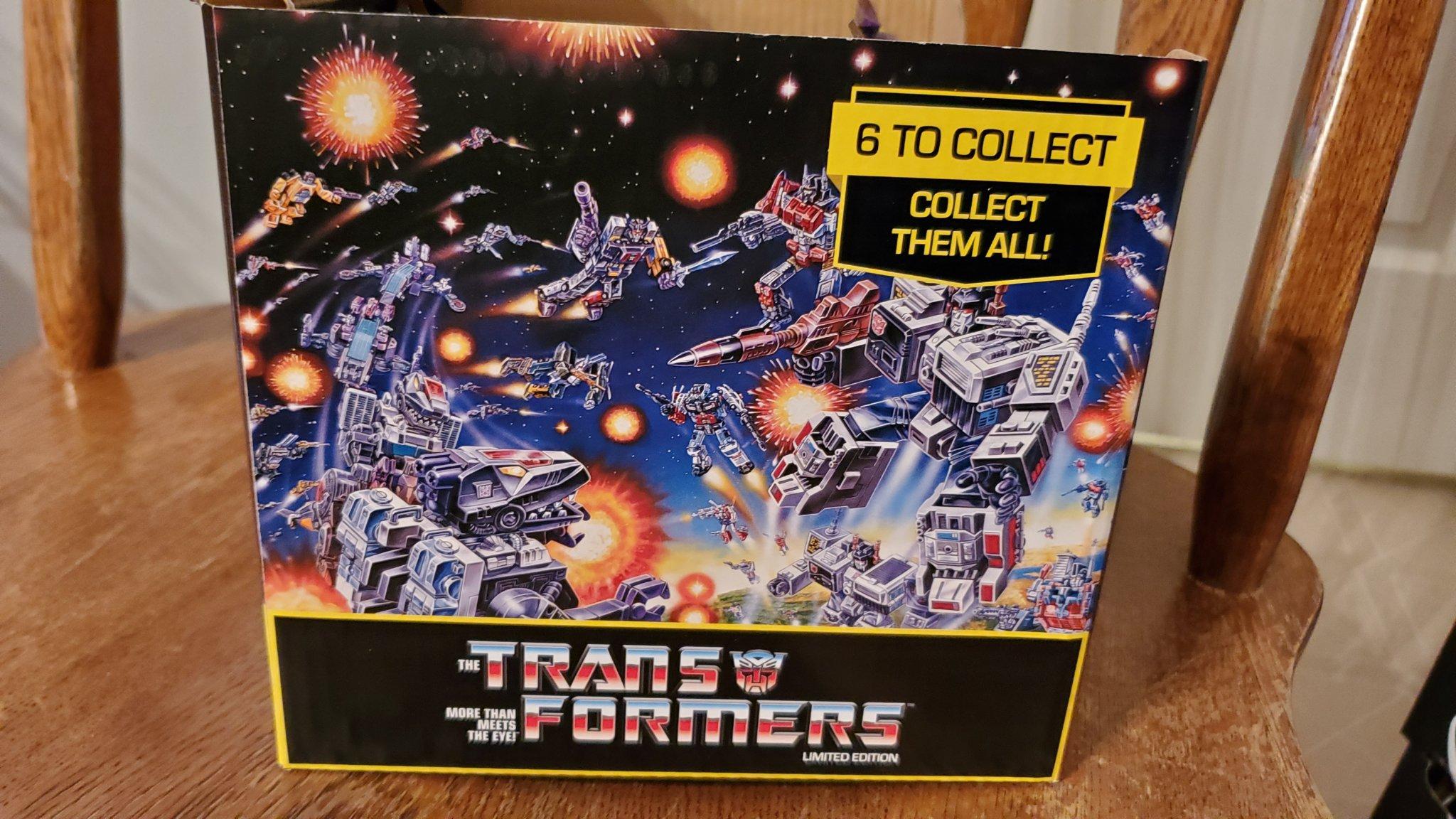 Prexio G1 Transformers Figurines Found At Dollar Tree