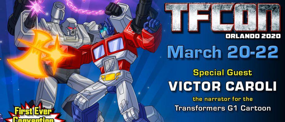 Transformers Narrator Victor Caroli to attend TFcon Orlando 2020