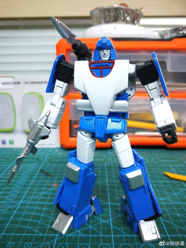 Transform Element TE-03 Phantom G1 Mirage Masterpiece Scale TE03 Action Figure