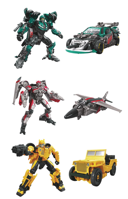 ROADBUSTER Action Figure HASBRO Transformers STUDIO SERIES DELUXE CLASS SS#58