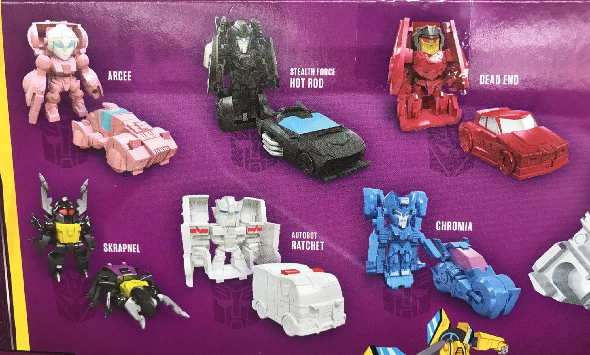 TWO Series 3 Transformers Tiny Turbo Changers Movie Edition Hasbro Generation