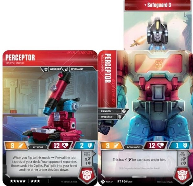 Transformers Trading Card Game Introduces Titan Masters Attack ...