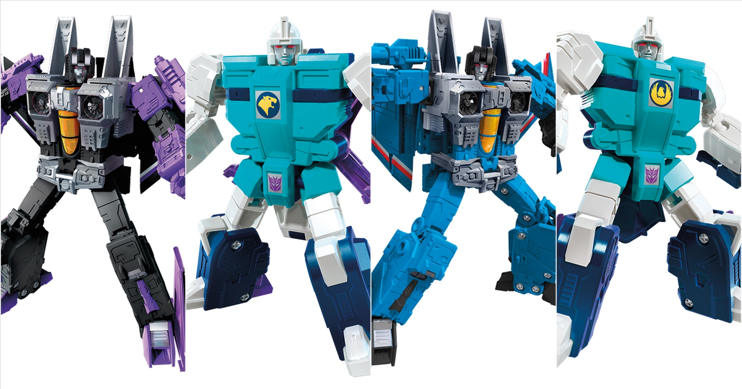 Target Exclusive Transformers Earthrise Thundercracker /& Skywarp