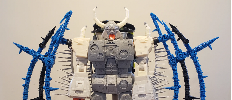 HasLab War for Cybertron Unicron: Production Update #2 - Test Shot & Packaging