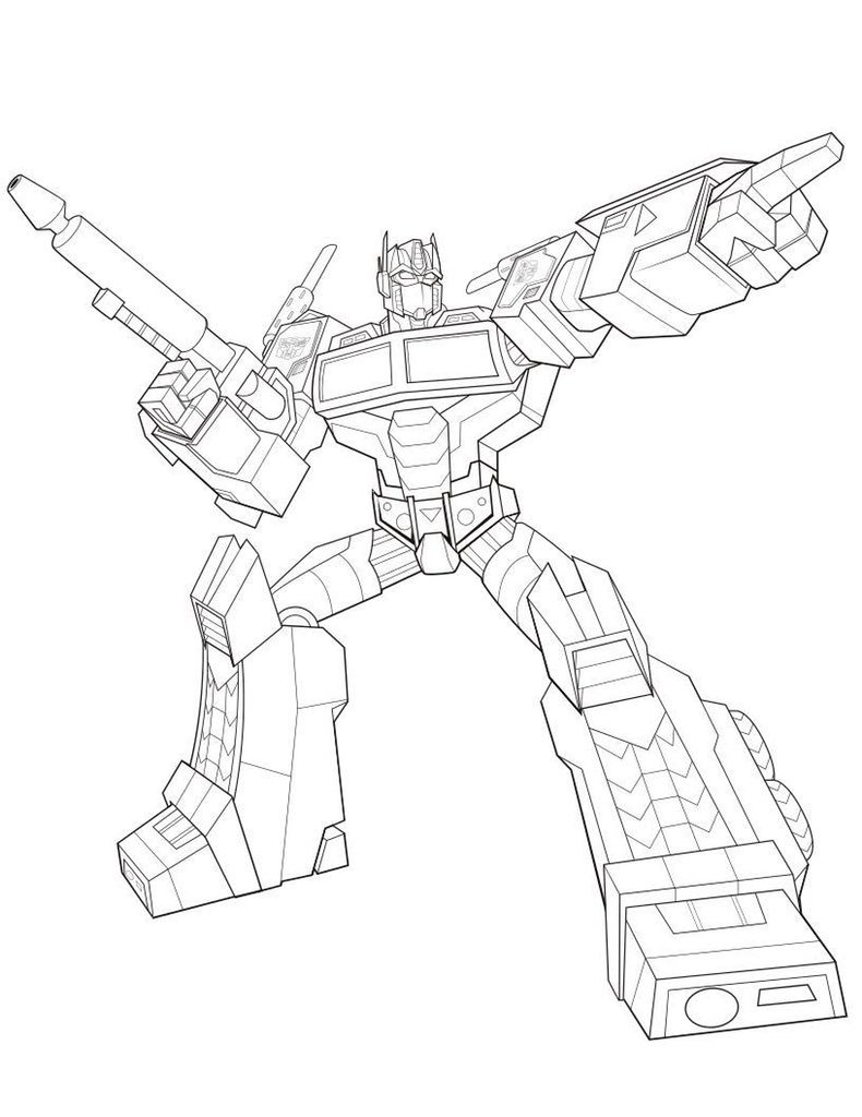 Optimus Prime Coloring Page Marvelous Optimus Prime Coloring Pages ... | 1024x790