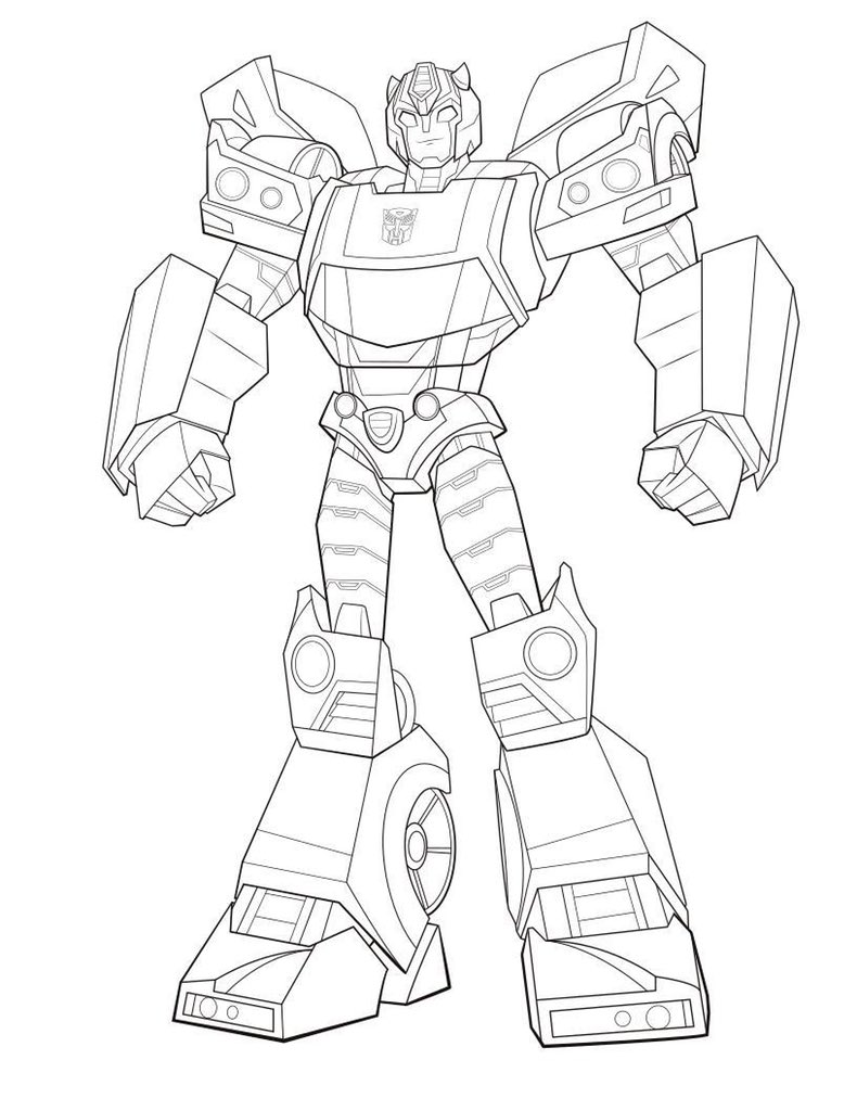 Transformer Coloring Pages. free printable transformers coloring ... | 1024x790