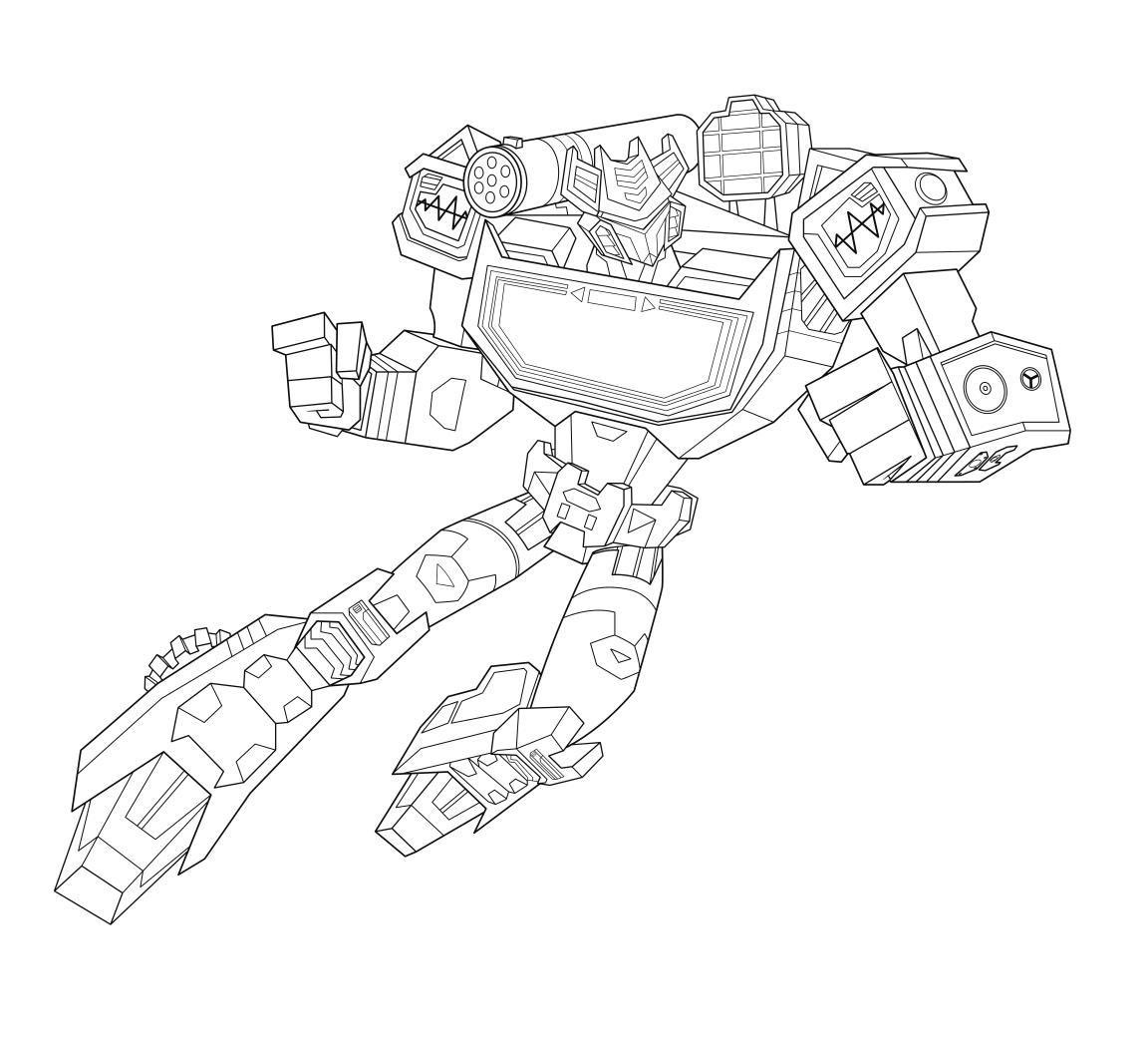 Official Takara Tomy Transformers Cyberverse Coloring ...