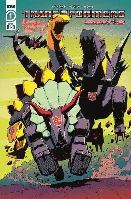 Of 4 Transformers 84 Secrets /& Lies #1