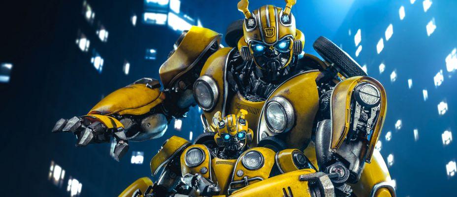 ThreeZero Bumblebee Movie Premium Scale Bumblebee Gallery and Review