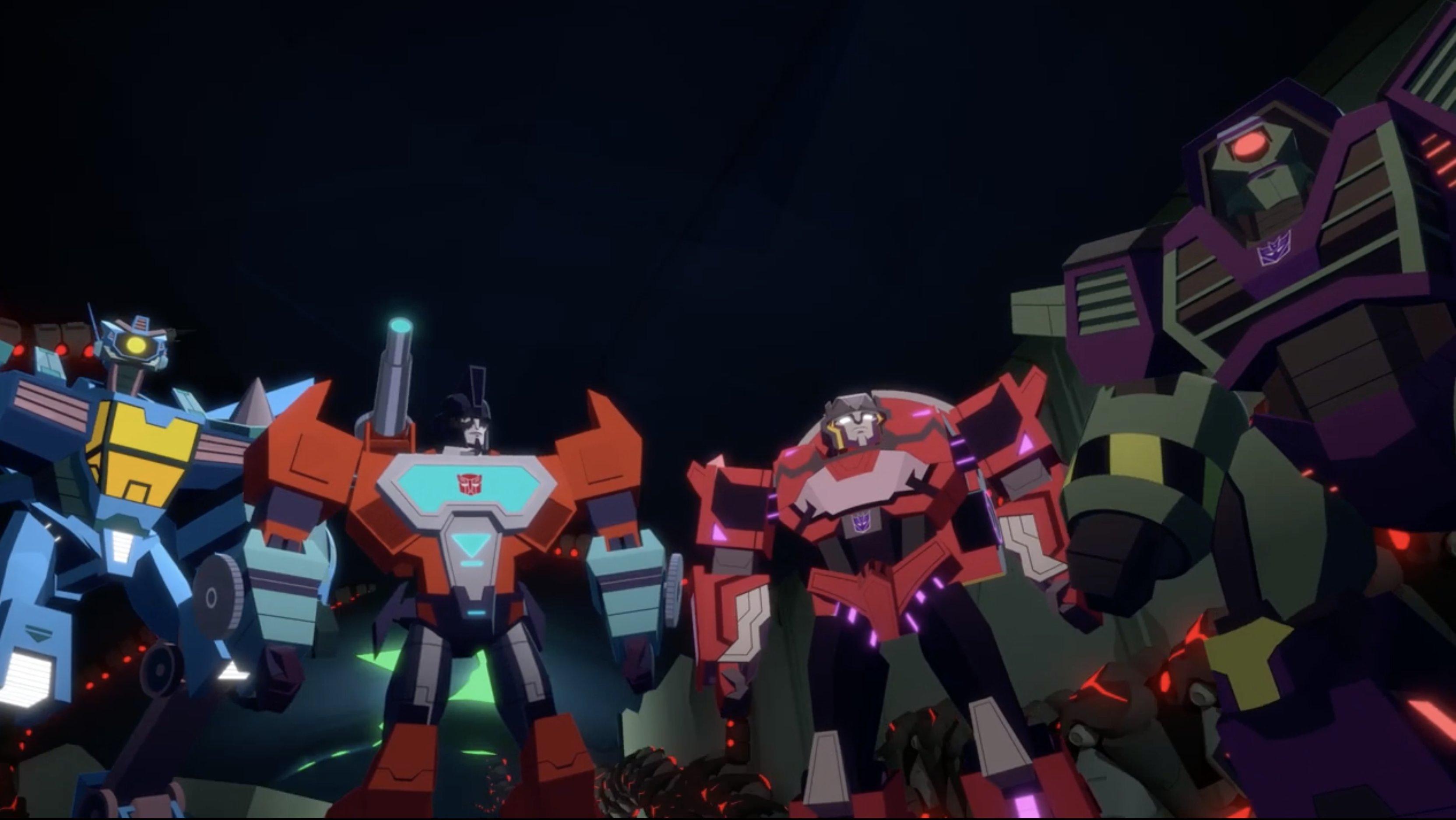 Transformers Cyberverse Whirl, Perceptor, Dead End, Clobber