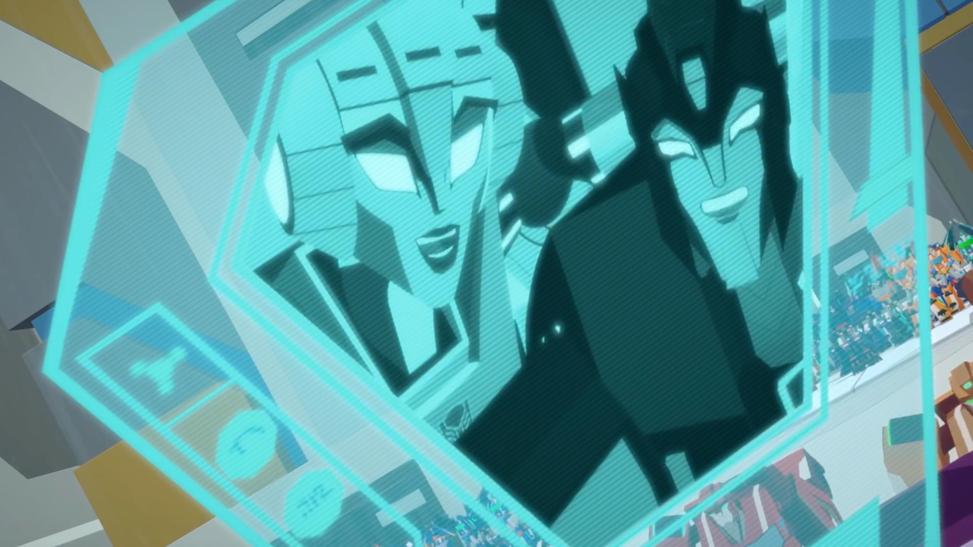 Transformers Cyberverse Arcee selfie